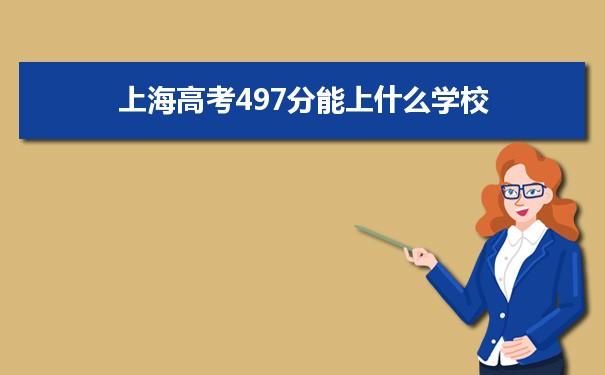 2021上海高考497能上什么大学