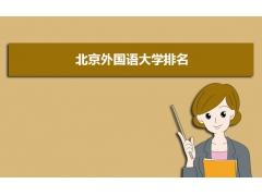 北京外国语大学2011在北京和全国大学最新排名