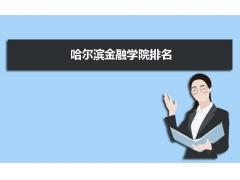 哈尔滨金融学院2011在黑龙江省和全国大学排名位次