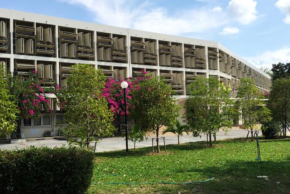 清迈大学校园风景