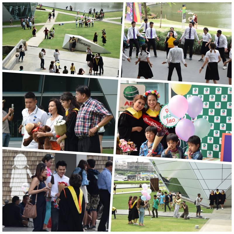 曼谷大学举行2016年毕业典礼