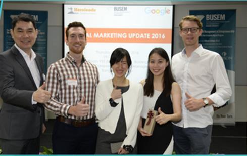 """曼谷大学举办""""2016数字营销升级""""讲座"""