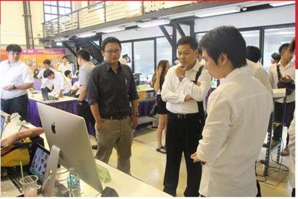 曼谷大学工程学院举办2015年高级项目展示