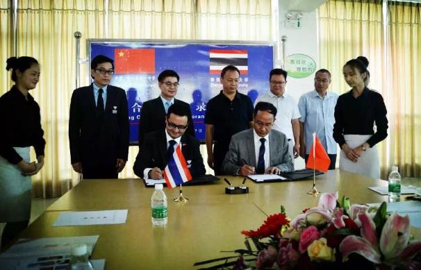 5月曼谷大学开启云南学校访问之旅