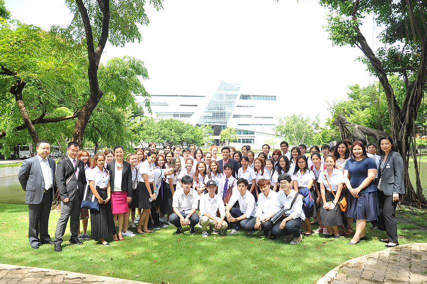 曼谷大学2016届迎新活动