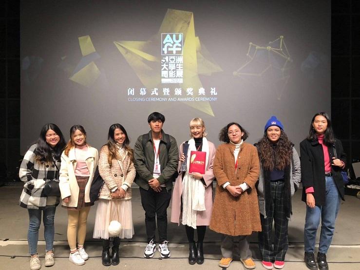 曼谷大学学生荣获第五届亚洲大学生电影展银奖