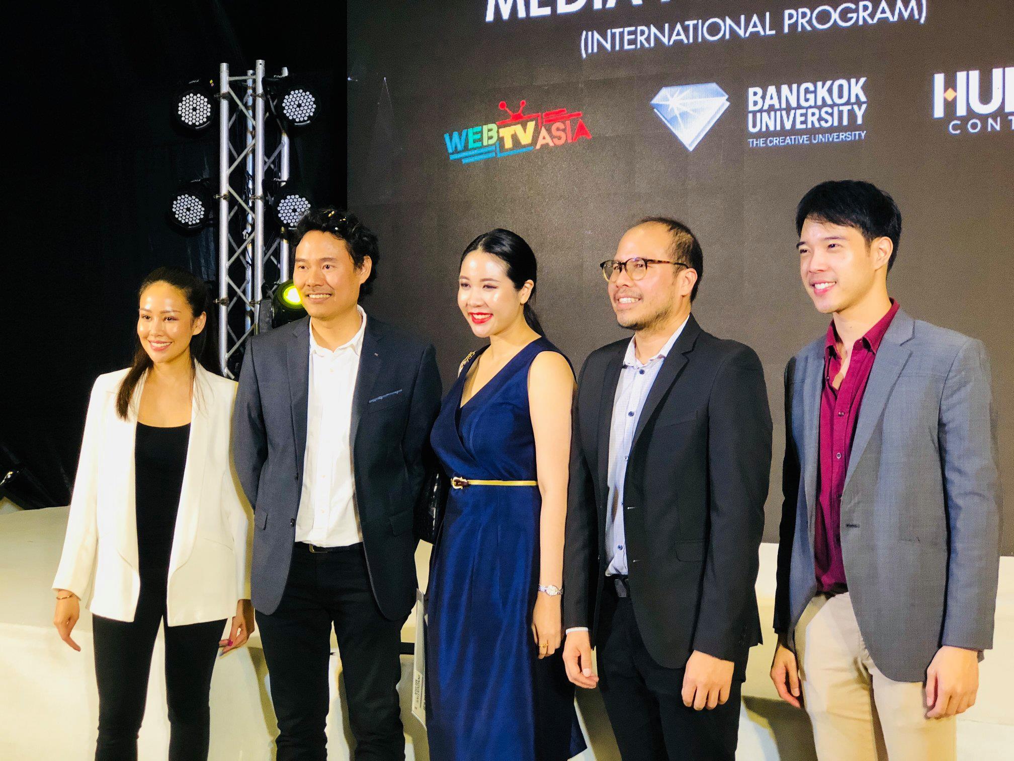 【曼大新闻】曼谷大学与WebTVAsia签署MOU合作协议