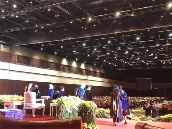 泰国大学毕业典礼 2018曼谷大学毕业典礼