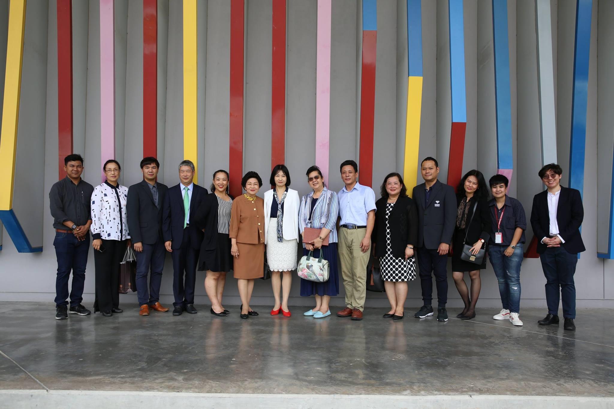 中国三亚学院到访泰国曼谷大学