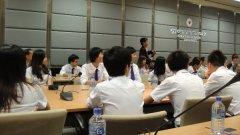 上海外国语大学交换生来我校学习和生活