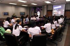 广东外语外贸大学师生访问曼谷大学