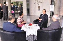 中国驻泰国大使馆 管木大使参观曼谷大学