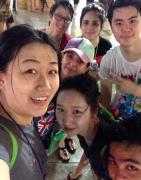 """曼谷大学中国留学生欢度2014""""宋干节(泼水节)"""