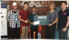 曼谷大学学生获得群晖科技比赛一等奖