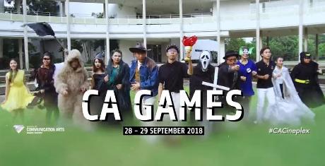 曼谷大学传媒学院CA Games 2018:CA CINEPLEX联谊运动会