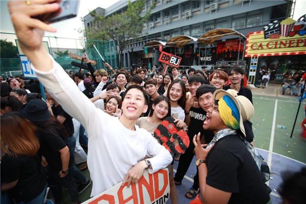 曼谷大学传媒学院CA Games 2018:CA CINEPLEX联谊运动会存照