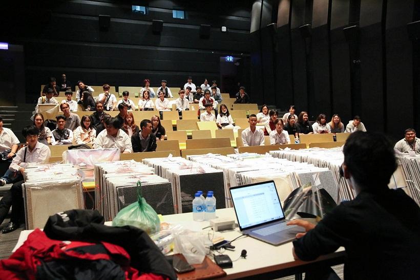 泰国留学 曼谷大学数码摄影课程学期项目作品展