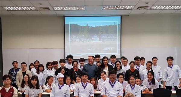 凯悦(Hyatt)酒店前来曼谷大学选拔实习生